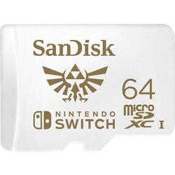 SanDisk Extreme Nintendo Switch™ microSDXC-Karte 64 GB UHS-I, UHS-Class 3 Geeignet für Nintendo Switch™