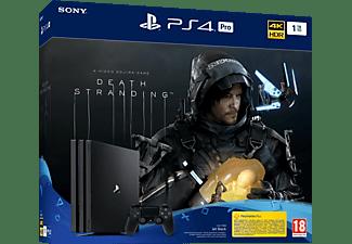 PlayStation 4 Pro 1TB - Death Stranding Bundle - Spielekonsole - Jet Black