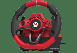 NINTENDO Mario Kart Racing Wheel Pro Deluxe für Nintendo Switch - Lenkrad mit Fusspedalen (Rot/Schwarz)
