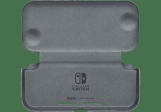 NINTENDO Flip Cover & Screen Film - Flip Cover + Displayschutzfolie für Nintendo Switch Lite (Schwarz)