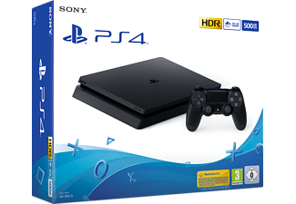 PlayStation 4 Slim 500Gb - Spielekonsole - Jet Black