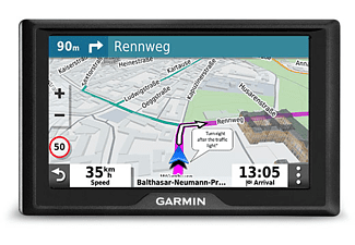 Garmin Drivesmart 55 EU Mt-D - Navigationsgerät (Schwarz)