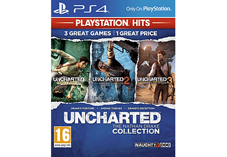 PS4 - PlayStation Hits: Uncharted - The Nathan Drake Collection /F