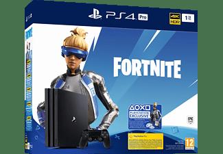 PlayStation 4 Pro 1TB - Fortnite Neo Versa Bundle - Spielekonsole - Jet Black