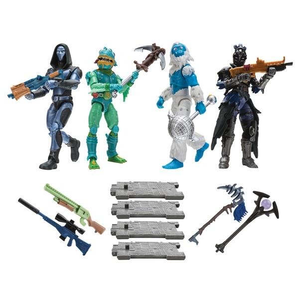 Fortnite Squad Mode Core 4er Figuren Set, Serie 2