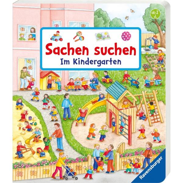 Ravensburger Sachen suchen im Kindergarten