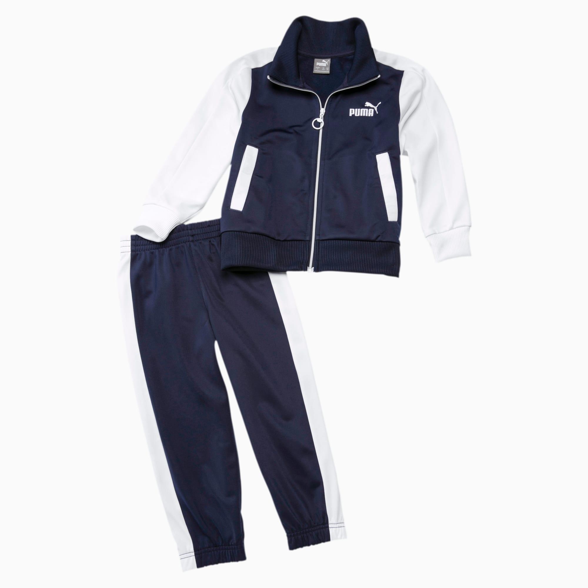 PUMA Baby Trainingsanzug Für Kinder | Mit Aucun | Blau/Weiß | Größe: 98