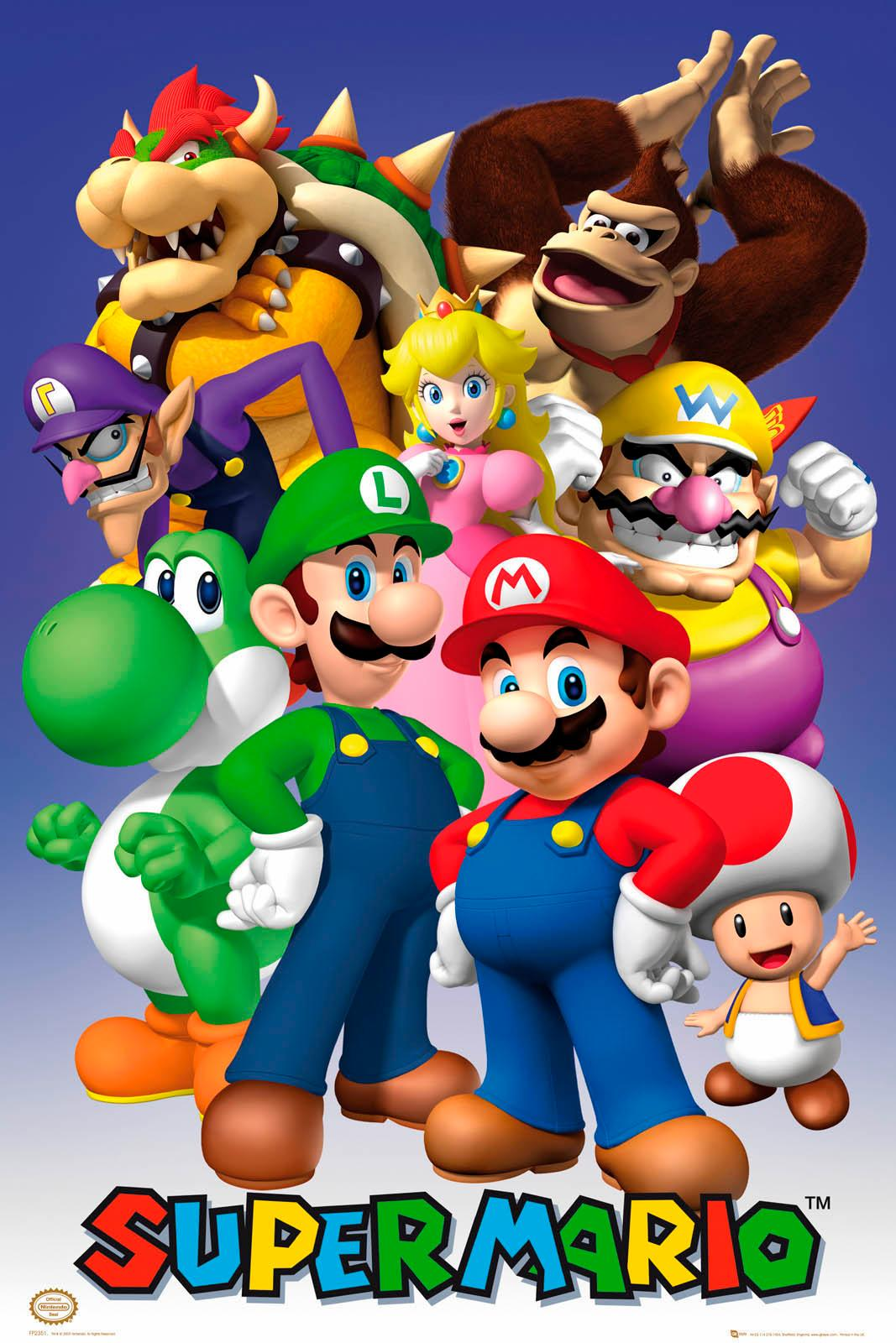Deco-Panel »Nintendo«
