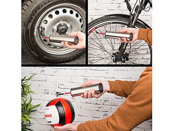 Akku-Kompressor-Luftpumpe für Reifen, Bälle u.v.m., LCD, bis 150 psi / Luftpumpe