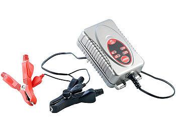Automatisches Kfz-Batterie-Ladegerät 0,75 A, 6 V/12 V / Autobatterie Ladegerät
