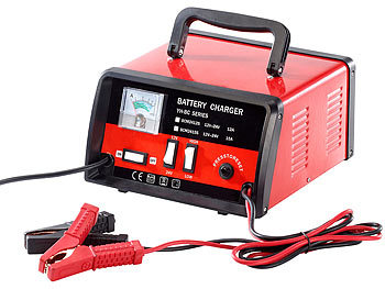 Profi-Batterieladegerät für 12 / 24 Volt, max. 15 A / Autobatterie Ladegerät