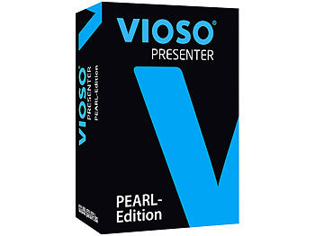 VIOSO Presenter-Software für Mixed-Media-Präsentationen PEARL-Edition / Beamer