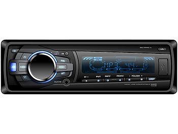 USB-Autoradio mit App-Fernbedienung/BT/SD/USB CAS-4370app / Autoradio