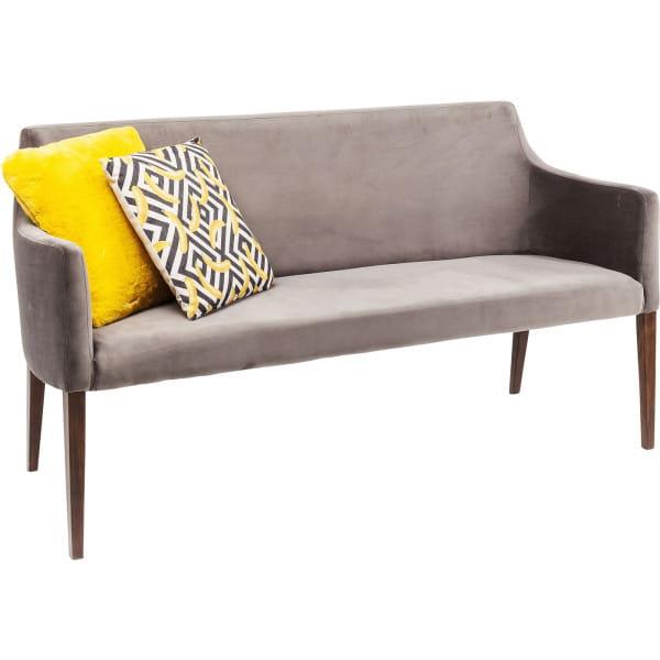 Polsterbank Mode Velvet Grey