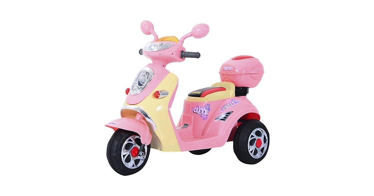 Kinderelektroroller rosa