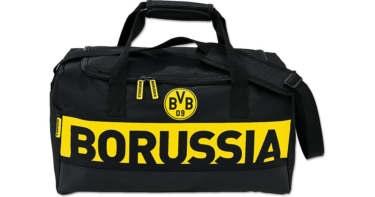 BORUSSIA-Sporttasche schwarz/gelb