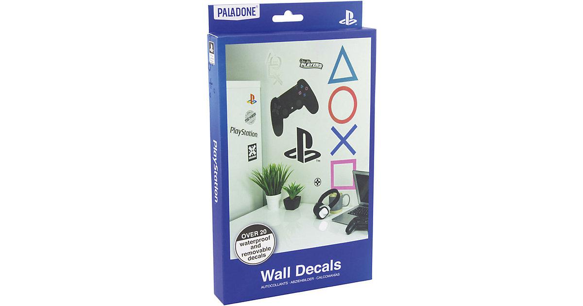 Playstation Wand Aufkleber