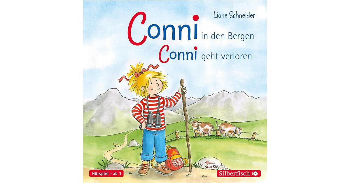 Meine Freundin Conni: Conni in den Bergen / geht verloren, 1 Audio-CD Hörbuch