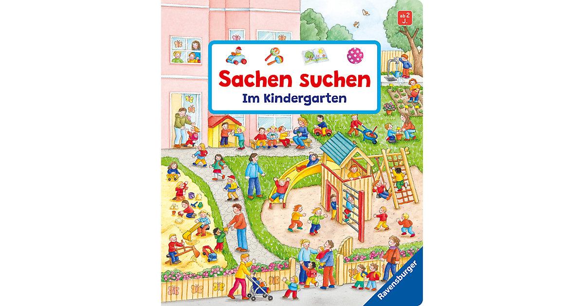 Buch - Sachen suchen: Im Kindergarten