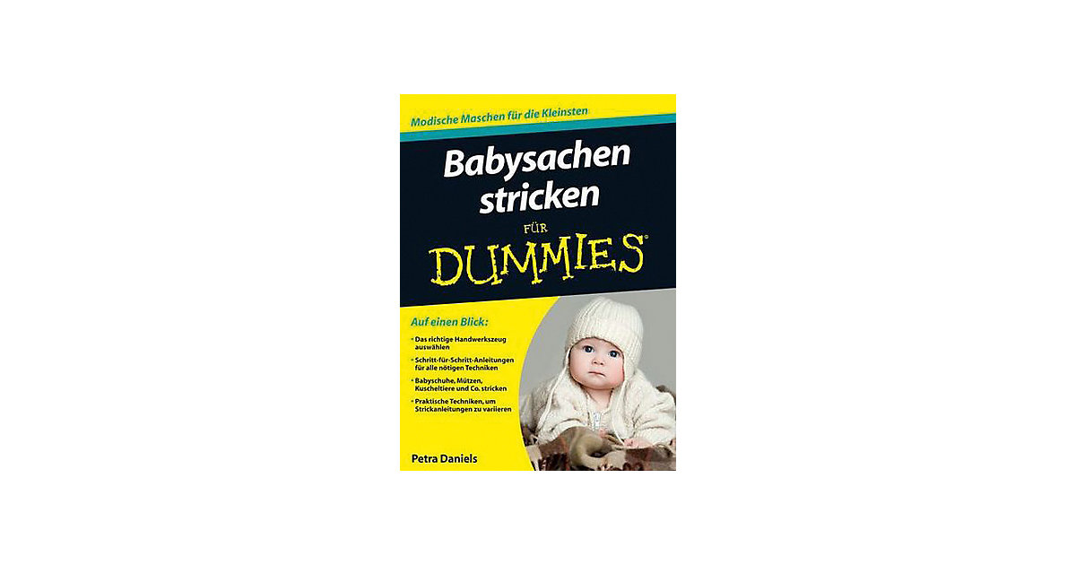 Buch - Babysachen stricken Dummies  Kinder