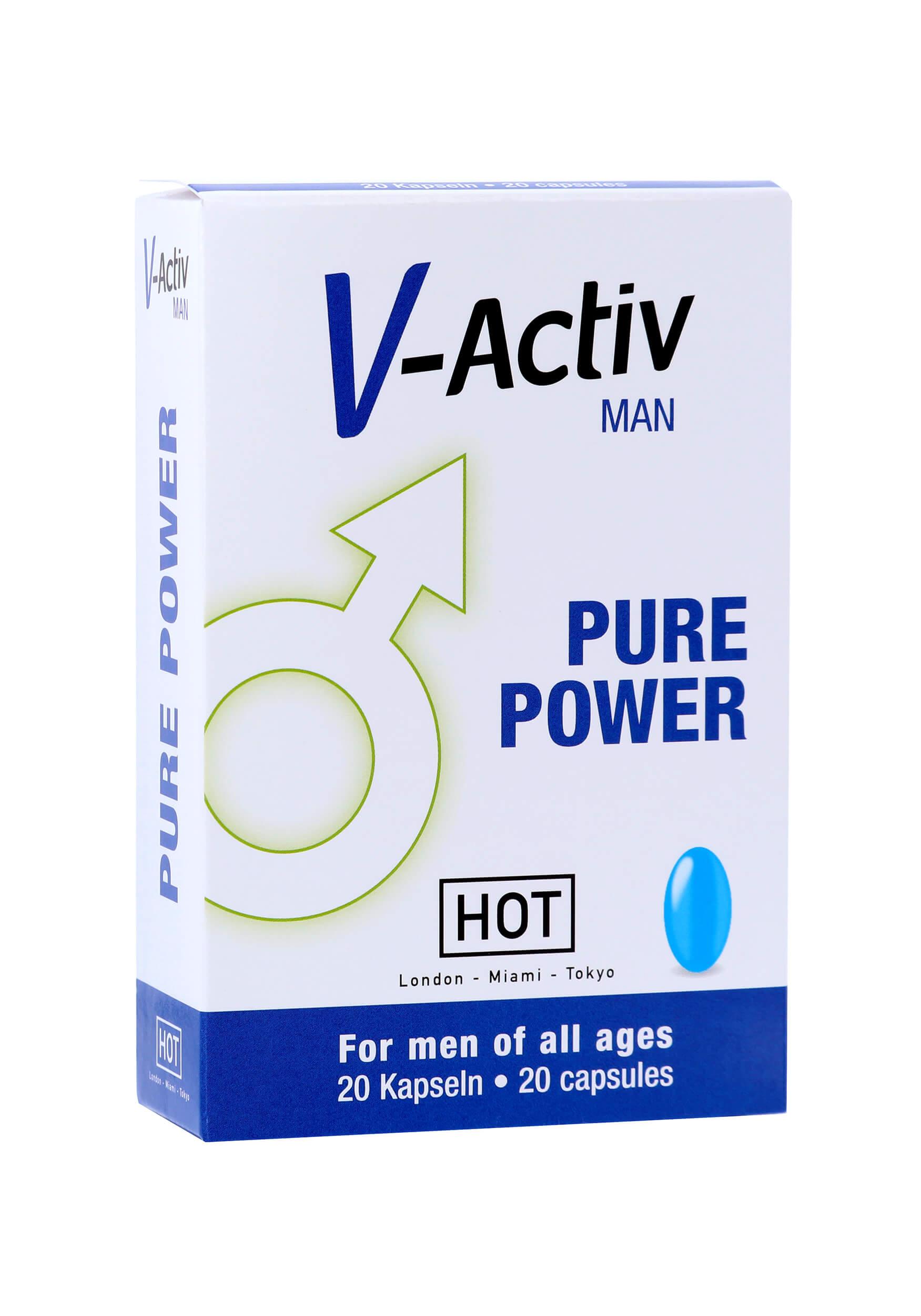 V-Activ Caps for Men 20Stk. (Potenz-Mittel)
