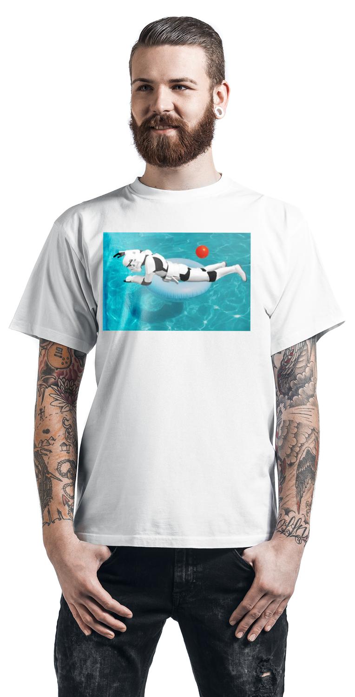 Original Stormtrooper Pool T-Shirt weiß
