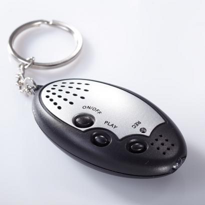 Schlüsselanhänger mit Aufnahmefunktion