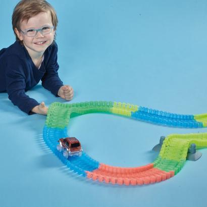 Flexible Auto-Rennbahn