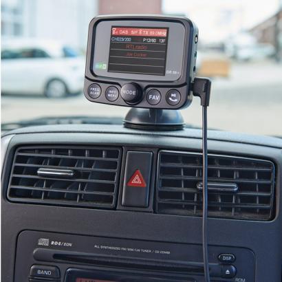 DAB+ Autoradio-Adapter