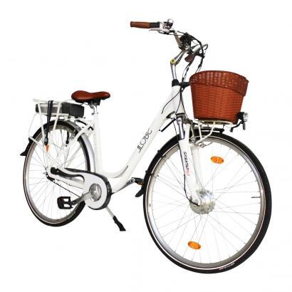 """City E-Bike """"White Motion"""""""