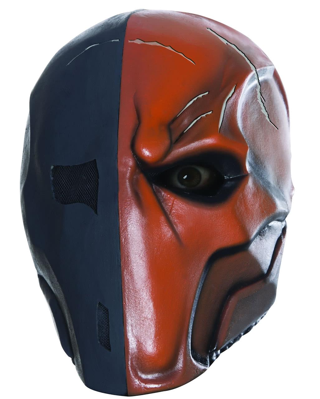 Deathstroke Latex Maske für Karnevalskostüme