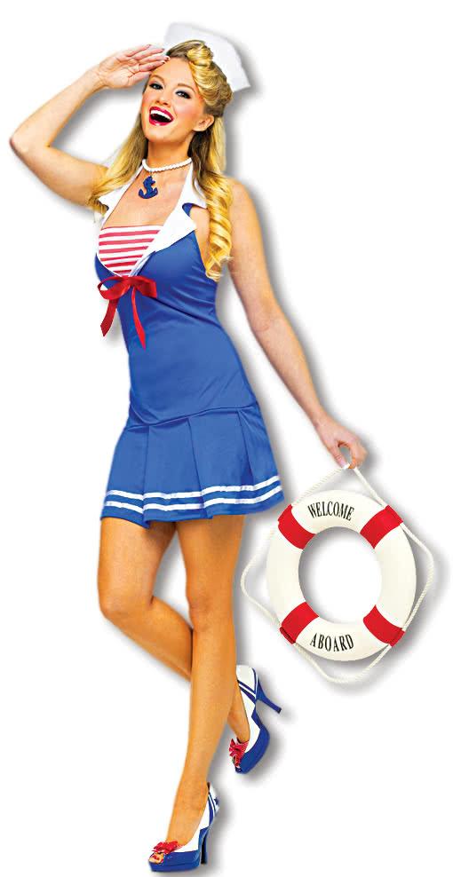Sexy Sailor Kostüm  Sexy Karnevalskostüme jetzt online kaufen SM
