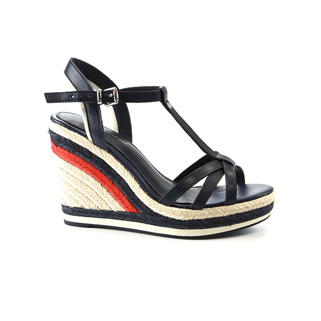 Tommy Hilfiger Tommy Strappy High Wedge Grösse 37 Damen